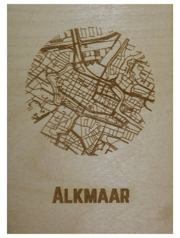 Ansichtkaart van Alkmaar
