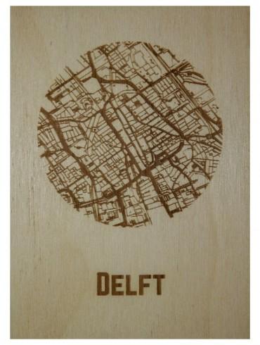 Ansichtkaart van Delft