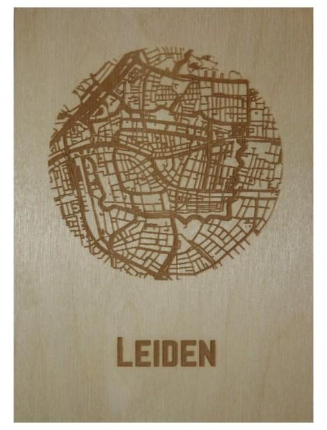Ansichtkaart van Leiden