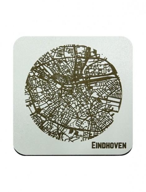 WoodyMaps ♥ Eindhoven • Onderzetter
