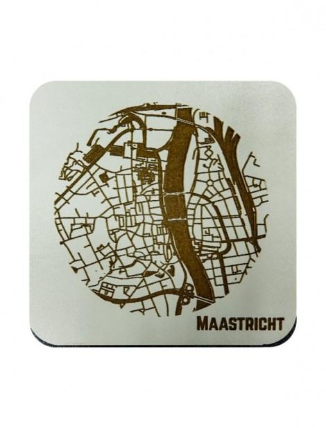 WoodyMaps ♥ Maastricht • Onderzetter
